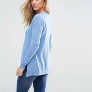 ASOS Sweaters - ASOS | Light Blue Cashmere Mix V Neck Sweater 2